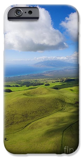 Maui Aerial iPhone Case by Ron Dahlquist - Printscapes
