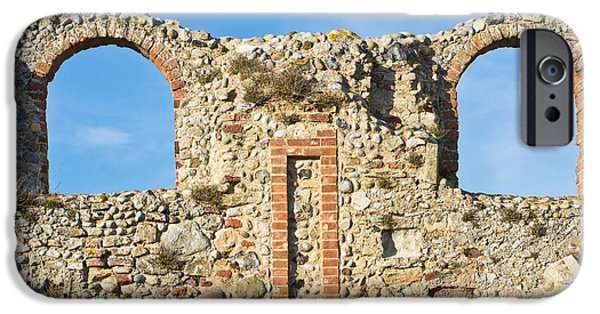 Abbey iPhone Cases - Medieval ruins iPhone Case by Tom Gowanlock
