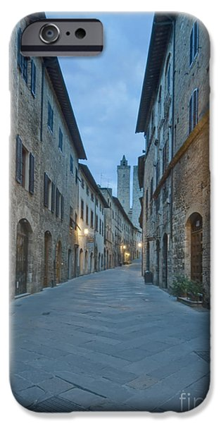 Medieval Street iPhone Case by ROB TILLEY