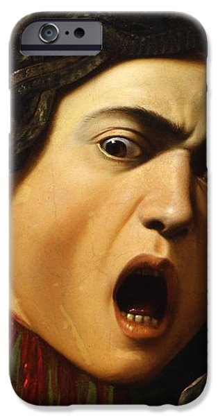 Shock iPhone Cases - Medusa iPhone Case by Caravaggio