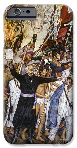 MEXICO: 1810 REVOLUTION iPhone Case by Granger