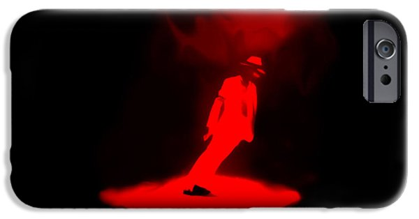 Smooth Criminal iPhone Cases - Michael Jackson Smooth Criminal iPhone Case by Brian Reaves