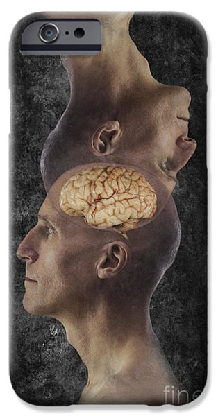 Esp iPhone Cases - Mind Reading iPhone Case by George Mattei