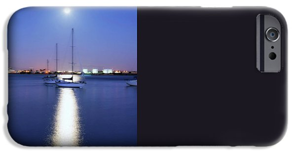 Ocean Sunset iPhone Cases - MoonShine iPhone Case by Joseph S Giacalone