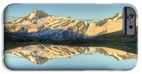 Mountains iPhone Cases - Mount Aspiring Moonrise Over Cascade iPhone Case by Colin Monteath