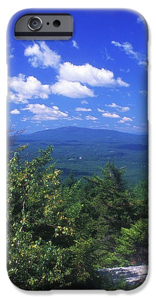 Mount Monadnock from Pack Monadnock iPhone Case by John Burk