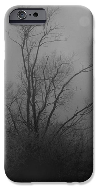 Nebelbild 13 - Fog Image 13 iPhone Case by Mimulux patricia no