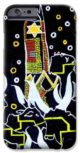 Nation iPhone Cases - New Nation - South Sudan iPhone Case by Gloria Ssali