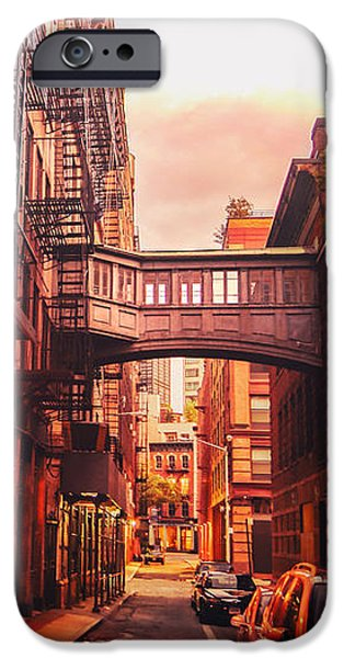 Escape iPhone Cases - New York City Alley iPhone Case by Vivienne Gucwa