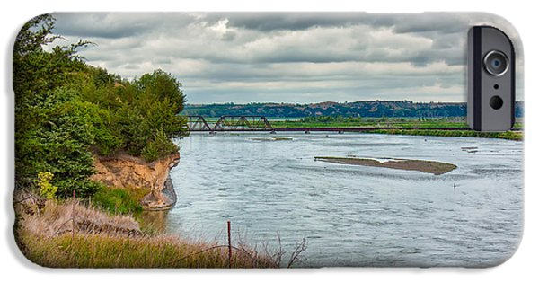 Nebraska iPhone Cases - Niobrara River iPhone Case by John Bailey