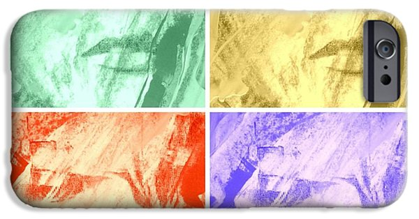 Waving Flag Mixed Media iPhone Cases - No Comment iPhone Case by Richard Ray