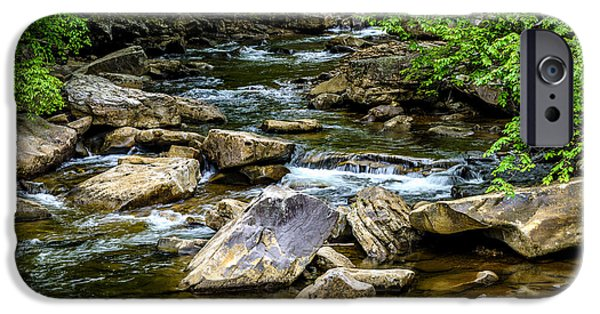 West Fork iPhone Cases - North Fork Cherry River iPhone Case by Thomas R Fletcher