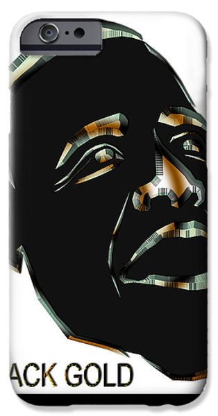 President iPhone Cases - Obama 1 iPhone Case by Dalon Ryan