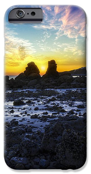 Ocean Sunset iPhone Cases - Ocean Sunset iPhone Case by Ian Mitchell