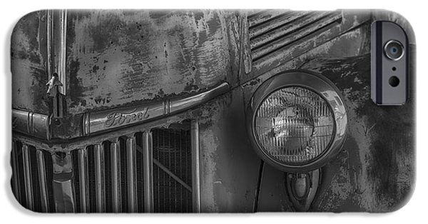 Truck iPhone Cases - Old Ford Pickup iPhone Case by Garry Gay