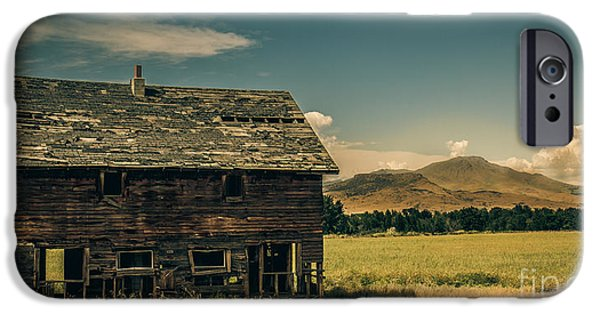 Old Barn iPhone Cases - Old Homestead iPhone Case by Robert Bales