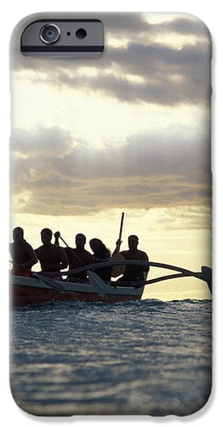 Outrigger Canoe iPhone Case by Vince Cavataio - Printscapes