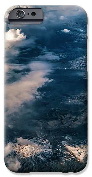 Painted Earth II iPhone Case by Jenny Rainbow