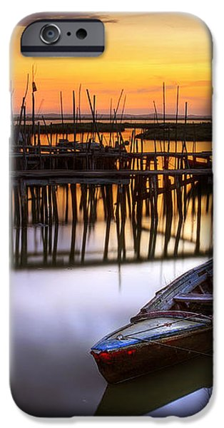 Palaffite port iPhone Case by Carlos Caetano