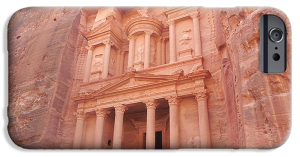 Jordan iPhone Cases - Petra iPhone Case by Jess F