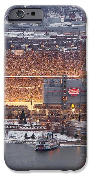 Pittsburgh 4 iPhone Case by Emmanuel Panagiotakis