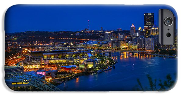 River iPhone Cases - Pittsburgh iPhone Case by Jim Archer