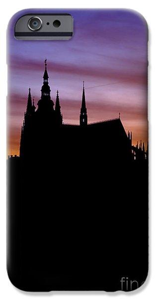 Prague castle iPhone Case by Michal Boubin