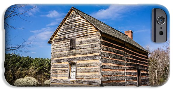 President iPhone Cases - Preserved Histric Wood House iPhone Case by Alexandr Grichenko