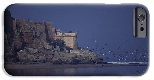 Rabat Photographs iPhone Cases - Rabat Bouregreg River Morocco iPhone Case by Antonio Martinho