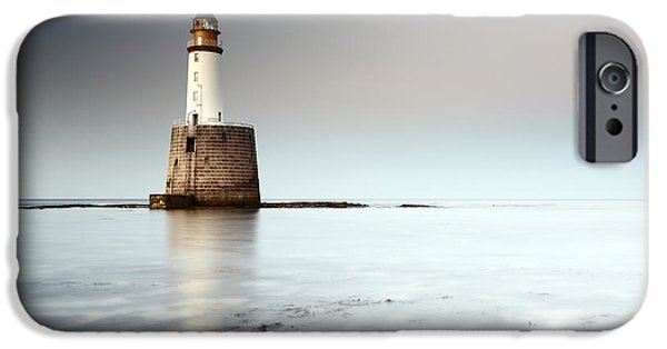 North Sea iPhone Cases - Rattray Head Lighthouse  iPhone Case by Grant Glendinning