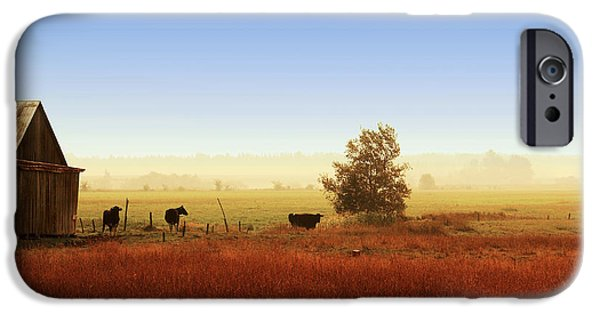 Fall iPhone Cases - Rawdon everyday life iPhone Case by Aimelle