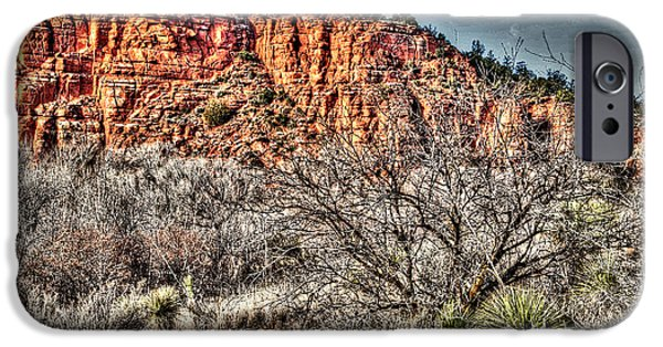 Sedona iPhone Cases - Red Rock State Park Collection iPhone Case by Deborah Klubertanz
