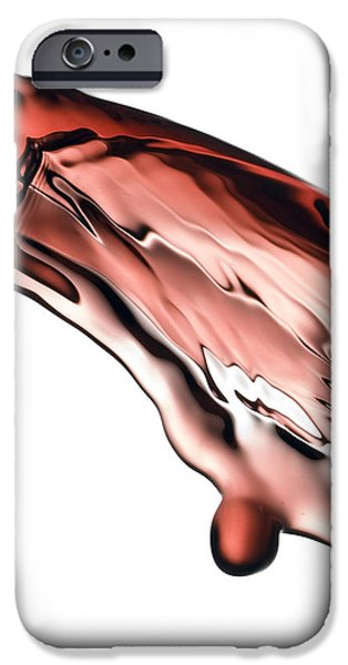 Red Wine iPhone Case by Frank Tschakert