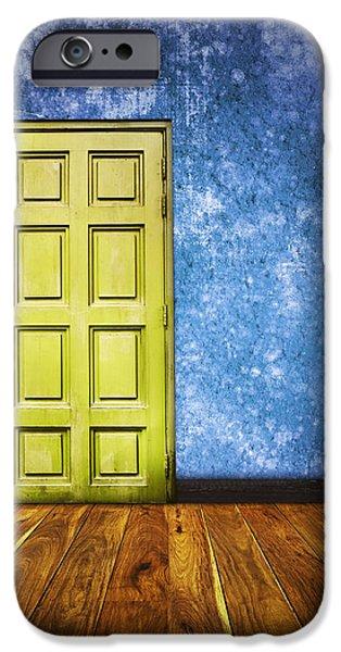 retro room iPhone Case by Setsiri Silapasuwanchai