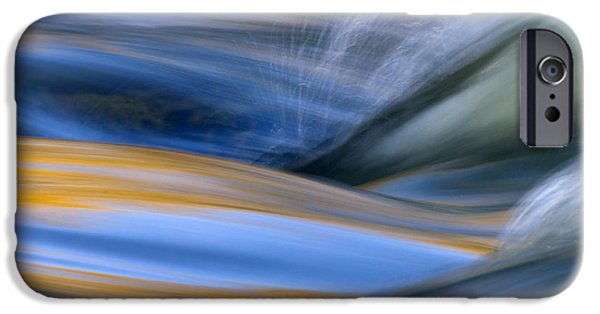 Flowing iPhone Cases - River iPhone Case by Silke Magino
