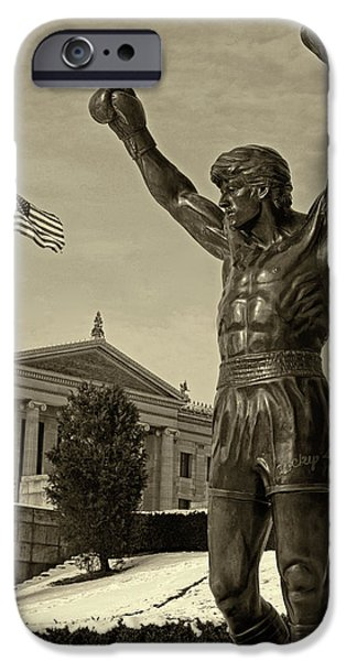 Rocky iPhone Case by JACK PAOLINI