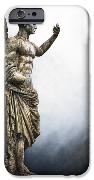 Roman Emperor iPhone Cases - Roman Emperor iPhone Case by Joana Kruse