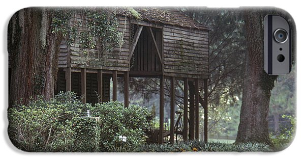 Old Barns iPhone Cases - Rosedown Plantation iPhone Case by Granger