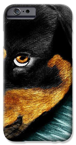 Rotty iPhone Case by Peter Piatt