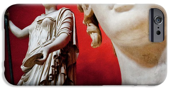 Warrior Goddess Photographs iPhone Cases - Rotunda Colossals 3 of 3 iPhone Case by Andy Smy