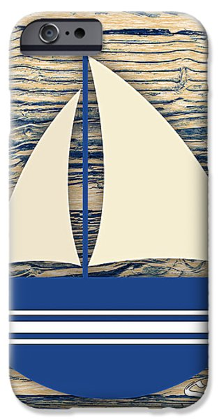 Sailboat iPhone Cases - Sailing Collection iPhone Case by Marvin Blaine