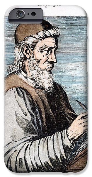 7th iPhone Cases - SAINT BEDE (c672-735) iPhone Case by Granger
