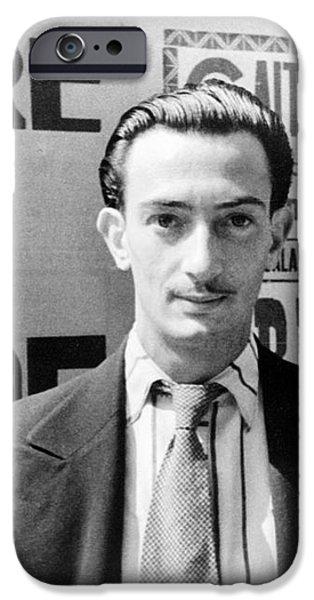 SALVADOR DALI (1904-1989) iPhone Case by Granger