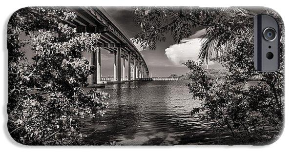 Bay Bridge iPhone Cases - San Marco Bridge iPhone Case by Raul Rodriguez