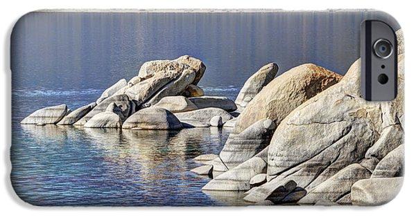 Village iPhone Cases - Sand Harbor Lake Tahoe iPhone Case by Marv Vandehey