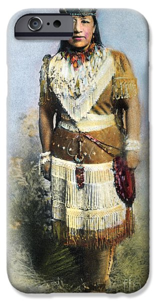 SARAH WINNEMUCCA iPhone Case by Granger