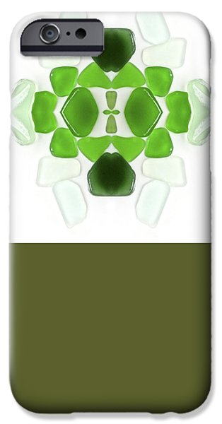 Summer Glass iPhone Cases - Sea Glass iPhone Case by John Seaton Callahan