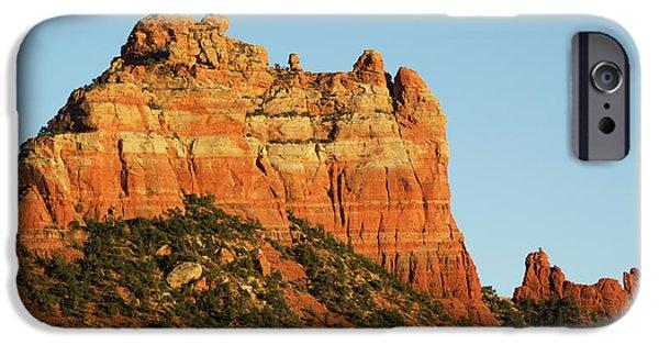 Dave iPhone Cases - Sedona Landscape XVIII iPhone Case by David Gordon
