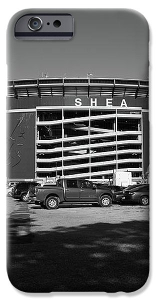 Shea Stadium - New York Mets iPhone Case by Frank Romeo