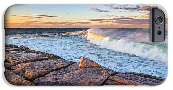 Recently Sold -  - Mist iPhone Cases - Shinnecock Inlet Surf iPhone Case by Robert Seifert